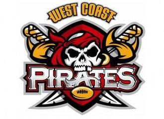 West Coast Pirates - Image: West Coast Pirates logo