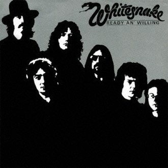 Ready an' Willing - Image: Whitesnake Ready An' Willing album cover