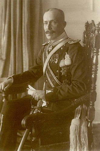 Royal descendants of John William Friso - William, Prince of Albania