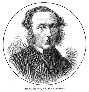 William Forsyth (barrister) British politician