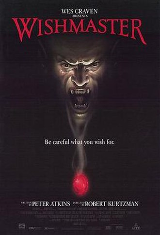 Wishmaster (film) - Theatrical release poster