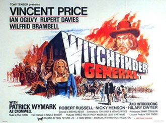 Witchfinder General (film) - Image: Witchfinder Poster