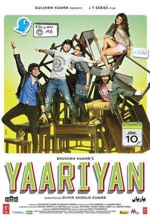 Yaariyan (2014 film) - Theatrical release poster