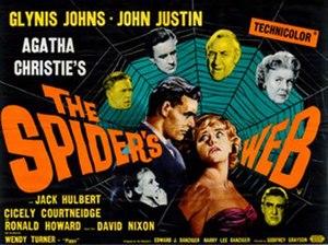 The Spider's Web (1960 film) - British quad poster