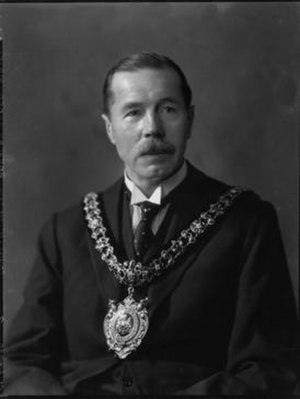 Robert Noton Barclay - Robert Noton Barclay, as Lord Mayor of Manchester