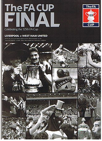 2006 FA Cup Final - Image: 2006 FA Cup Final Programme
