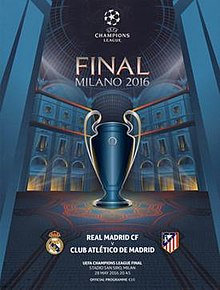 2016 uefa champions league final wikipedia. Black Bedroom Furniture Sets. Home Design Ideas
