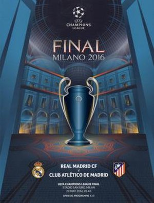 2016 UEFA Champions League Final - Image: 2016 UEFA Champions League Final programme