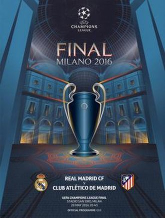 2016 UEFA Champions League Final - Image: 2016 UEFA Champions League Final programme