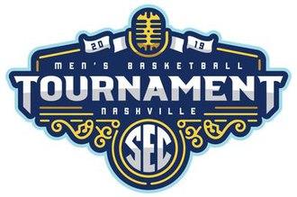 2019 SEC Men's Basketball Tournament - Image: 2019 SEC Men's Basketball Tournament Logo