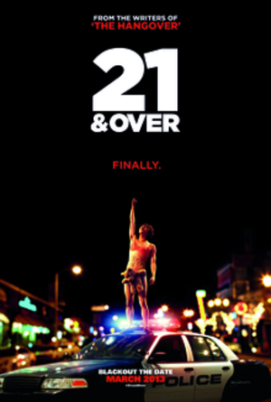 21 & Over (film) - Theatrical release poster