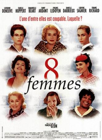 8 Women - Image: 8 femmes poster