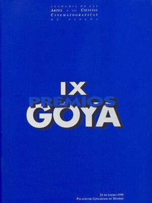 9th Goya Awards - Image: 9th Goya Awards logo
