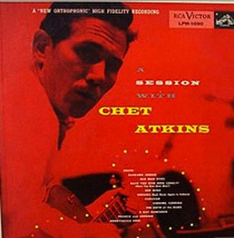 A Session with Chet Atkins - Image: A Session With Chet Atkins
