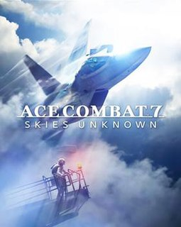 <i>Ace Combat 7: Skies Unknown</i> 2019 action combat flight simulator video game