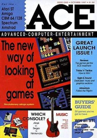 ACE (magazine) - Image: Acemagazine 1