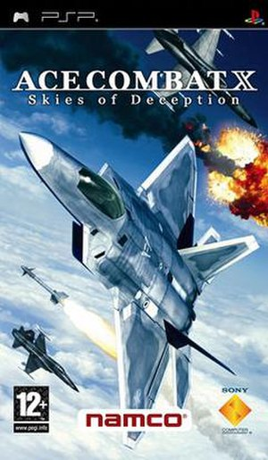 Ace Combat X: Skies of Deception - European cover art.