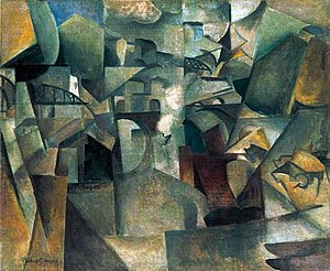 Passy - Image: Albert Gleizes, 1912, Les ponts de Paris (Passy), The Bridges of Paris, oil on canvas, 60.5 x 73.2 cm, Museum Moderner Kunst (mumok), Vienna