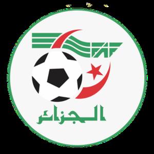 Algeria A' national football team - Image: Algerian FA (logo)
