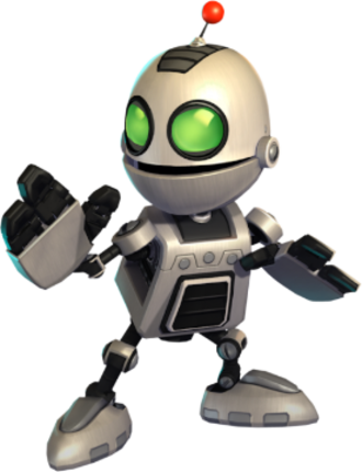 Clank (Ratchet & Clank) - Clank as he appears in All 4 One