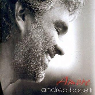 Amore (Andrea Bocelli album) - Image: Amore Andrea Bocelli FRONT