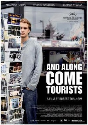 And Along Come Tourists - English-language poster