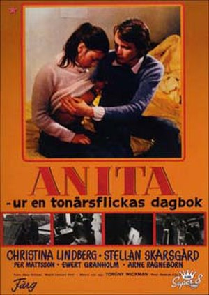 Anita: Swedish Nymphet - DVD cover