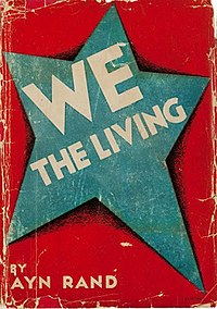 First edition of We the Living