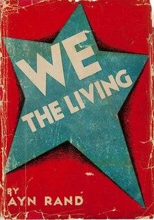 <i>We the Living</i> Novel by Ayn Rand