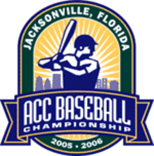 2005 Atlantic Coast Conference Baseball Tournament - 2005-06 ACC baseball tournament logo
