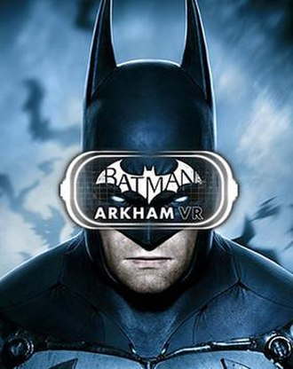 Batman: Arkham VR - Image: Batman Arkham VR Cover Art