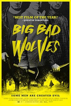 Big Bad Wolves - US release poster