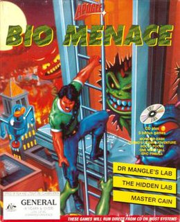 <i>Bio Menace</i> 1993 video game