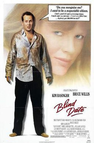 Blind Date (1987 film) - Theatrical release poster