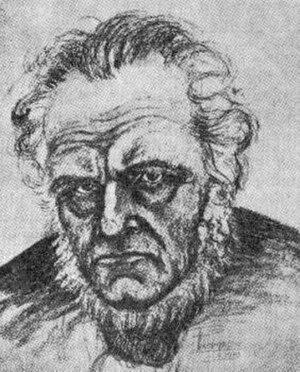Bólu-Hjálmar - 19th-century sketch of Bólu-Hjálmar