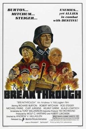 Breakthrough (1979 film) - Image: Breakthrough Film Poster