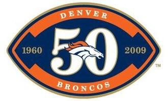 2009 Denver Broncos season - Image: Broncos 50
