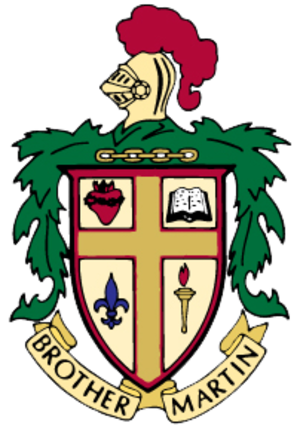 Brother Martin High School - Image: Brother Martin Crest
