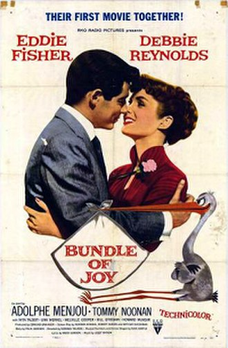 Bundle of Joy - Theatrical release poster