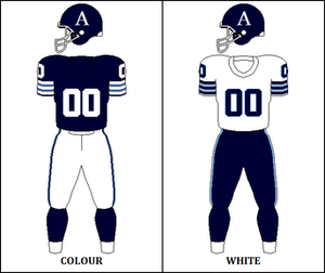 1972 Toronto Argonauts season - Image: CFL TOR Jersey 1972