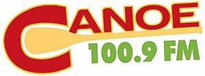 CKHA-FM - Image: CKHA Canoe 100.9FM logo