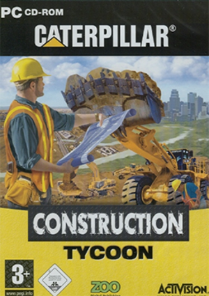 Caterpillar Construction Tycoon - Image: Caterpillar Construction Tycoon Coverart
