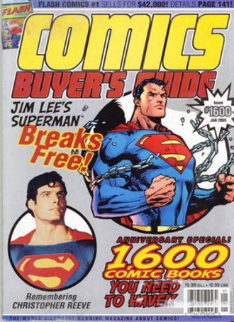 Comics Buyer's Guide - Image: Cbg 1600