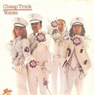 Voices (Cheap Trick song) - Image: Cheaptricksingle voices