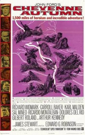 Cheyenne Autumn - Theatrical release poster