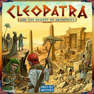 Cleopatra and the Society of Architects - Box cover