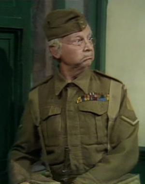Clive Dunn - Dunn as Lance Corporal Jones in Dad's Army (1973)