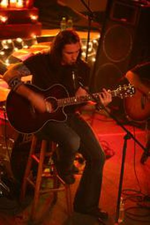 Clint Lowery - Clint Lowery performing as a solo artist in 2008