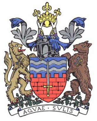 English heraldry - The arms of Bath City Council