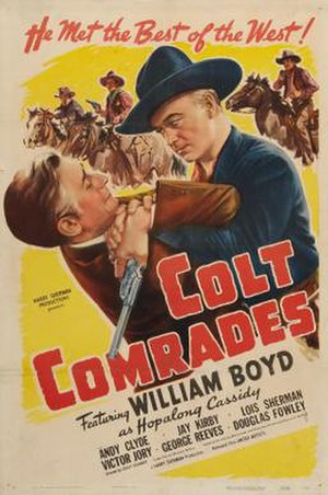 Colt Comrades - Theatrical release poster
